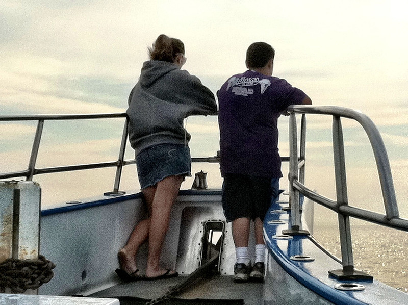 RJ and KK fishing 2011