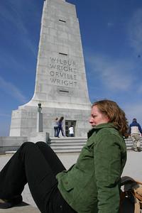 Linda resting at the top.