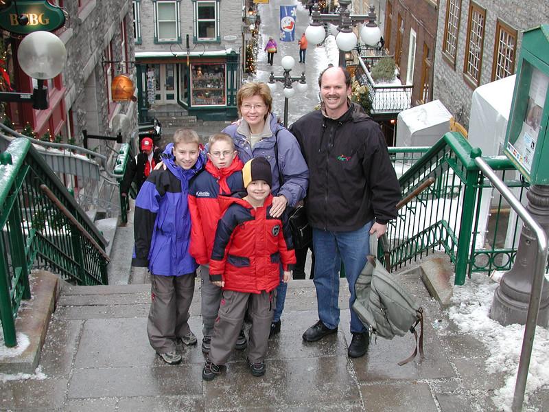 Quebec City<br /> February 2002