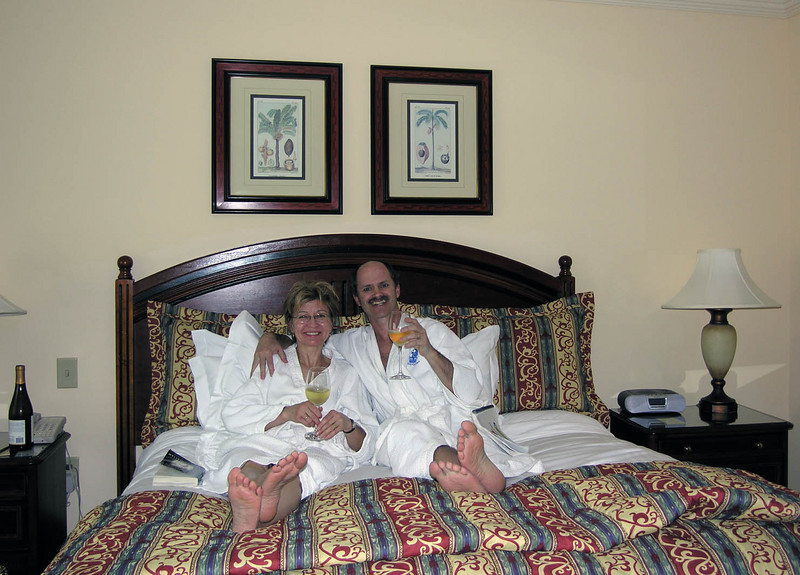 20th Anniversary @ The Ritz Carlton<br /> (April, 2006 - an early anniversary present!)