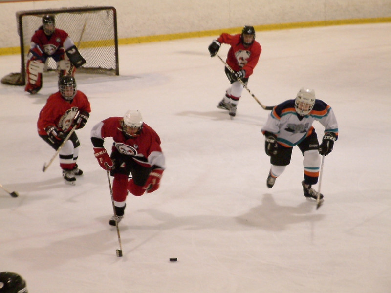Lisa (white jersey)<br /> Hockey, 2002