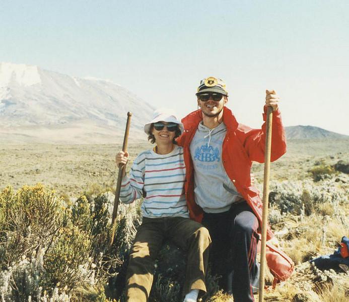 Kilimanjaro, Tanzania, Africa<br /> ~1986