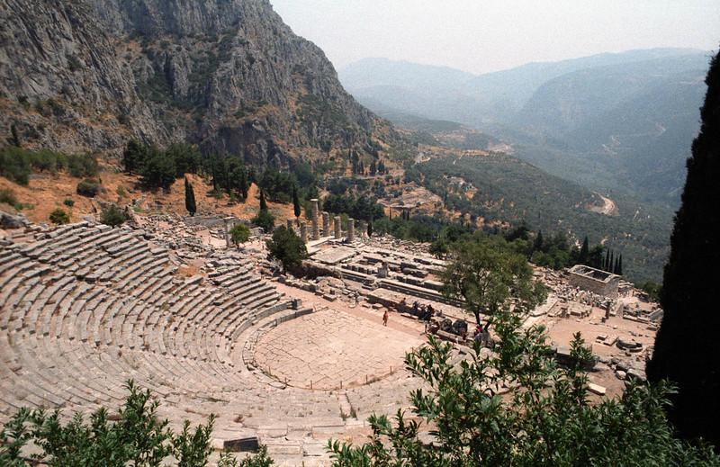 Oracle of Delphi<br /> Greece.