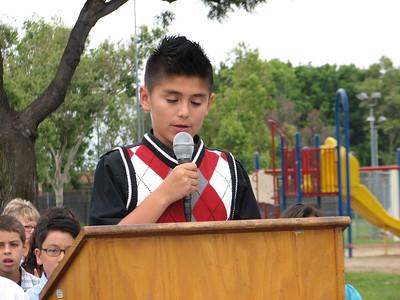 Owen's 5th Grade Promotion
