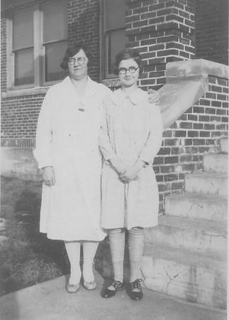 Lucille Bensheimer & Mrs Miller-2
