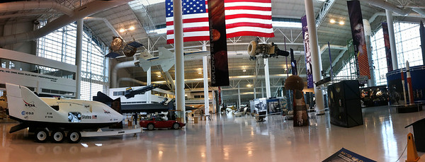 Evergreen Aviation Museum. Panorama taken on iPhone4