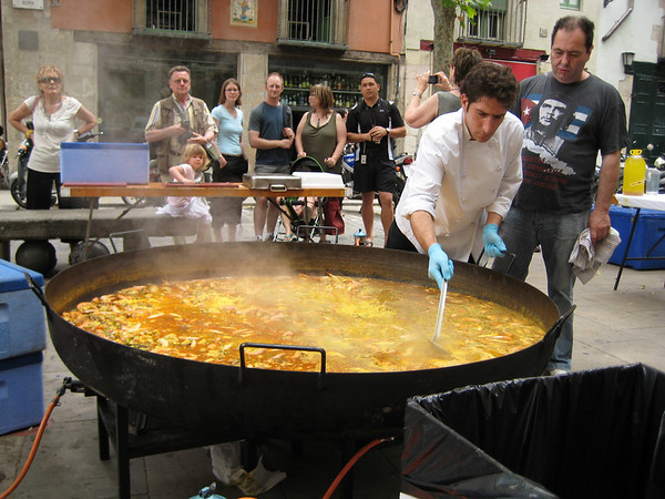 Paella in the Born