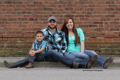 Paige , Dustin & Family