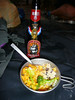 "Shrimp curry is especially yummy with <a href=""http://www.drinkdrakes.com/our_beer.html"">Drakes IPA</a>"