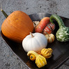 All the goodies that we picked up from the pumpkin patch.
