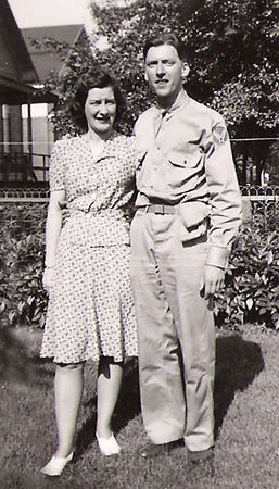 Mom & Dad - July 1942