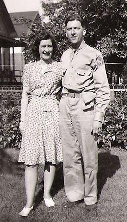Mom & Dad - July 1942