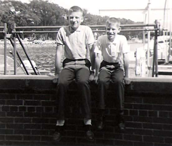 Brothers; George and Tom Bukowski