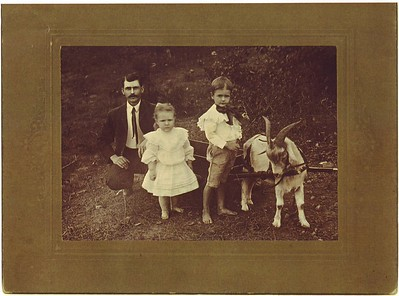 John Robert, Nettie Pauline and Robert Cape Parham
