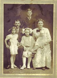 John Robert Parham Family Abt. 1913