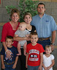 Terrel (forever the big strong man), his beautiful wife Mindee, and such cute kids!!!  Tel,<br /> Cole, Brodie and Hayley