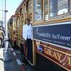 Old fashion trolley car