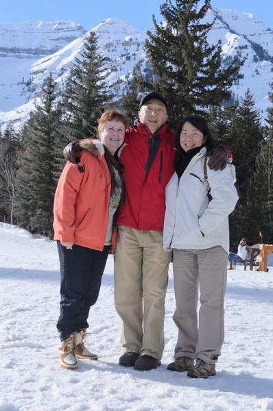 Lesli Lai Sederquist, Allan Lai, Marie Hansen Lai