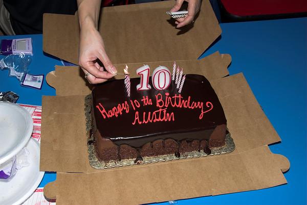 Austin's 10th birthday