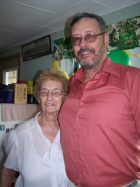 Darrel and his Aunt Amelia