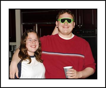 Joel and sister