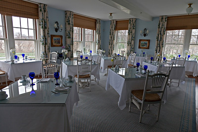 Inn at Castle Hill, breakfast room