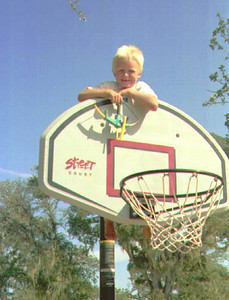 Nathan Roth (5-yrs old, but almost 6!). Basketball? What's that?