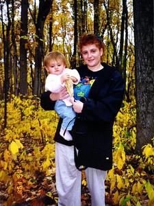 Kathy and Sydney Kane enjoying the autumn weather in Shenandoah National Park