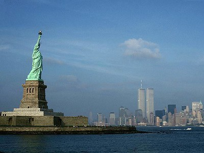 The Statue of Liberty symbolizes the many freedoms we enjoy in the United States. Image source: Liberty State Park