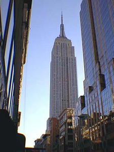 The Empire State Building as seen from Fifth Avenue. Picture source: The NYC Insider