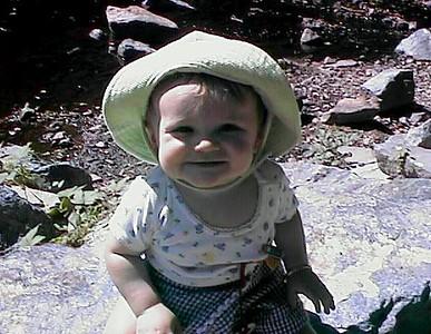 Sydney Jean Kane exploring Rock Creek Park