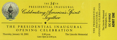 Pat was in Washington DC for business and was able to attend The Presidential Inaugural Opening Celebration at the Lincoln Memorial.