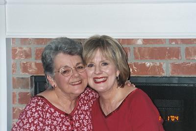 Mom and Cheryl