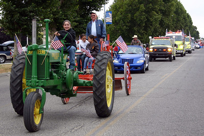 King City's 4th of July parade.