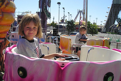 Sydney and Christopher Kane enjoying the day at the Ventura County Fair.
