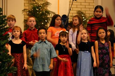Sierra at St. John's Christmas Program