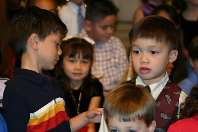 Eli at St. John's Christmas Program