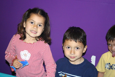 Christopher's 5th Birthday Party. Miranda & Nicholas.