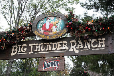 Santa's Reindeer Round-up at the Big Thunder Ranch.