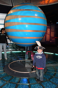 Christopher inside Innoventions.