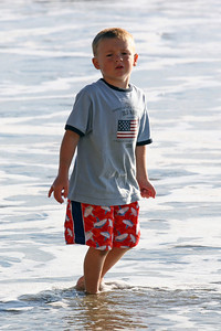 Christopher enjoying a day at the beach.