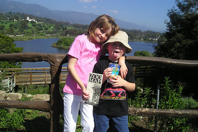 Sydney & Christopher at the Santa Barbara Zoo