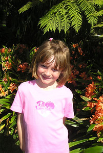 Sydney at the Santa Barbara Zoo