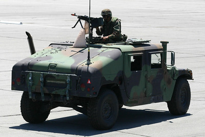 HMMWV in the Seabee Days parade