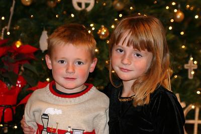 Christopher & Sydney after the St. John's Lutheran School 2005 Christmas Program.
