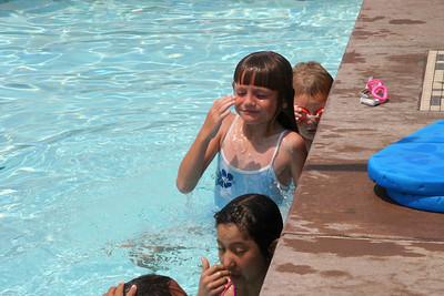 Swim lessons at Oxnard High School.