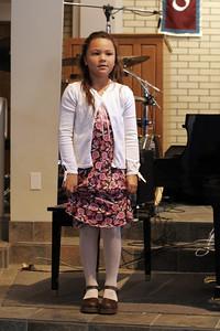 Alanna's 1st piano recital