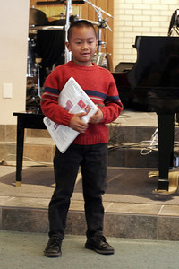Christian's 1st piano recital