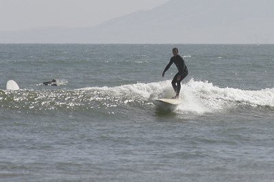 Surfer at Ventura Beach