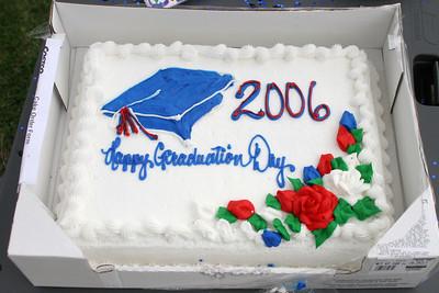 First Baptist Day School's 2005-2006 Kindergarten class graduation celebration.
